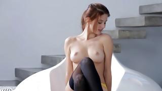 Free porn presents the salacious sexually nice girl