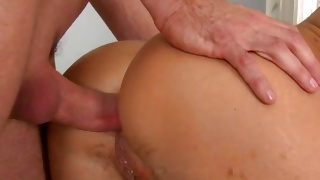 Two naked whores are pounded and banged