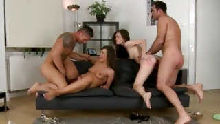 Sweet whores love when their holes are cock filled