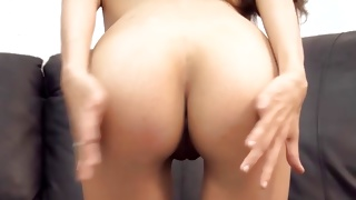 Skinny whore bending over the table getting vagina hammered