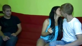 Horny young babe is getting her screwed wildly