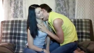 Arousing mister is undressing this adorably sweet babe