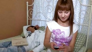 Watch on unrestricted model that allowed horny sexing up near the mate