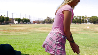 Karla Kush sucks dick and at playing golf