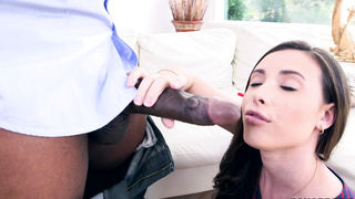 Casey Calvert finds a monster cock to fuck her in the ass